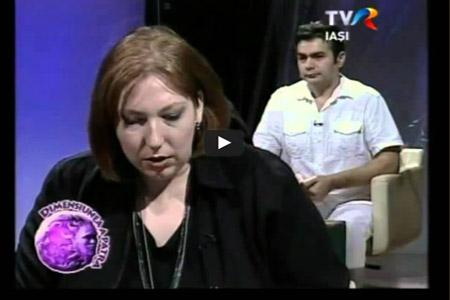 TVR Iasi in emisiunea Dimensiunea a 4 a cu Alexandra Coman, 02 dec 2012