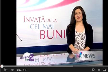 Atelier de Terapie prin Ras - Reportaj Antena 2