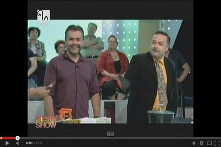 Marius Vornicescu invitat in emisiunea Siesta Show la TVH - 24.07.2014