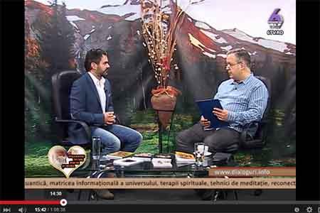 Marius Vornicescu in emisiunea DIALOGURI INTRE MINTE SI INIMA 2015.03.28