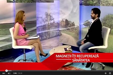 Marius Vornicescu in emisiunea Mereu in Forma - Recupereaza ti sanatatea cu ajutorul magnetilor