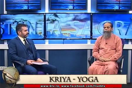 Marius Vornicescu si Swami Nityananda Giri in emisiunea STIINTA SACRA - 2017-04-29